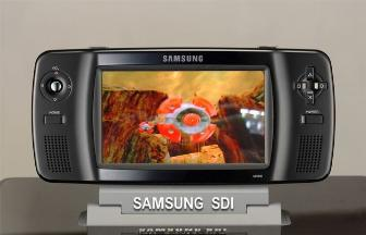 Samsung SDI showing 3D AM OLED at SID 2006