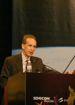 Surfect Technologies CEO Steve Anderson delivers keynote at SEMICON West 2006