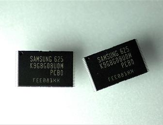Samsung produces 8Gbit NAND flash chips on 60nm