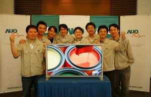 AUO's first 42-inch panel from 7.5G plant