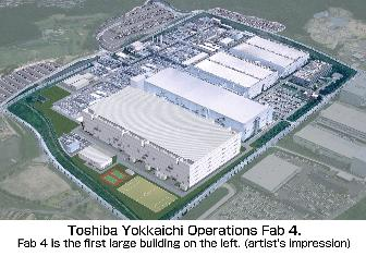 Toshiba and SanDisk kick off new NAND flash fab construction