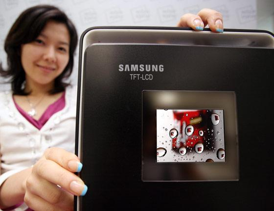 3-inch LCD panel with VGA resolution for digital still cameras from Samsung Electronics