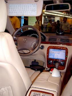 Shuttle shows prototype of XPC-based car information system