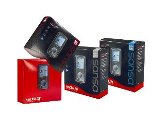 SanDisk boosts Sansa MP3 player capacity to 8GB