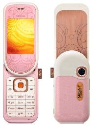Nokia's L'Amour phone in pink
