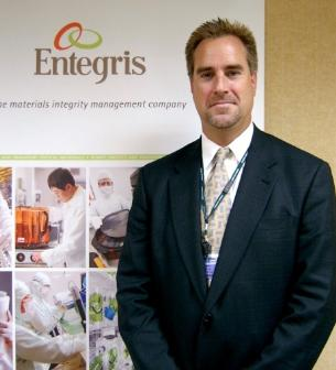 Chad Ruwe, marketing VP of Entegris