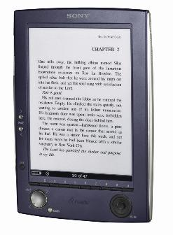 Sony portable e-book reader to hit market next month