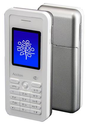 Accton's VM1185T Wi-Fi phone for Skype