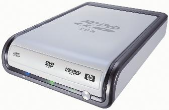 HP's HD100 external HD DVD drive