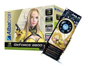 Albatron's graphics card based on the Nvidia GeForce 8800 GTX GPU