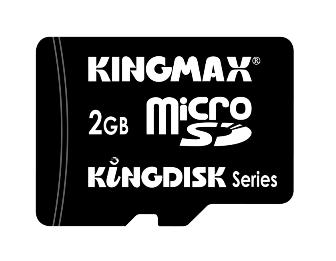 Kingmax to begin mass production of 2GB microSD cards