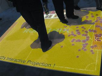 CES 2007: Sanyo shows off interactive projector for gamers