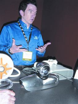 CES 2007: TI eying front projectors for game market
