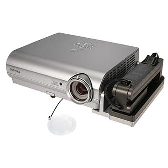 Toshiba unveils DLP projector with detachable camera