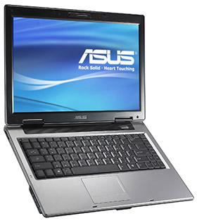 Asustek A8Jr notebook series with ATI Mobility Radeon X2300 GPU