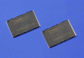 Toshiba's 56nm NAND flash memory chips