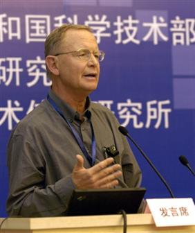 East-West Center professor Dieter Ernst
