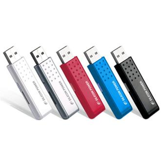 Silicon Power's slim-size USB drive with memory capacity of up to 4GB