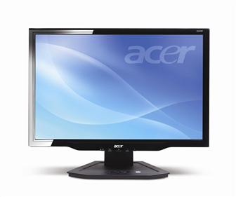 Acer unveils new LCD monitor line