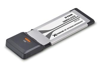 The D-Link Xtreme N Notebook ExpressCard (DWA-643)