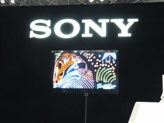 Sony showing OLED at Finetech Japan