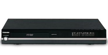 The Toshiba HD-A20 HD DVD player