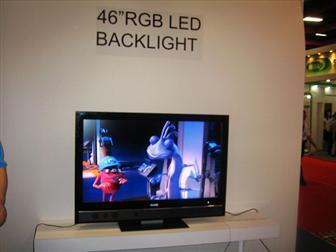 Lite-On 46-inch RGB LED-based TV