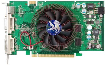 Biostar Sigma-Gate VR8603TS21 graphics card based on GeForce 8600GTS