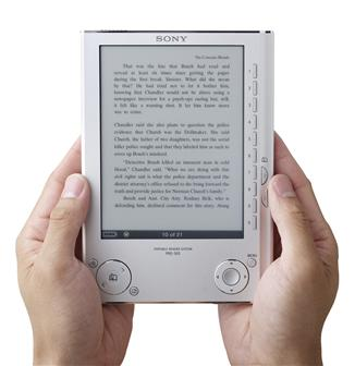 The Sony PRS-505 digital ebook reader
