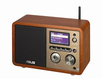 Asustek Internet Radio (AIR) with Wi-Fi and LAN support