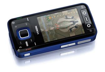 The Nokia N81 multimedia handset