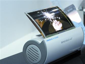 Samsung SDI highlights 4-inch flexible display at FPD International 2007