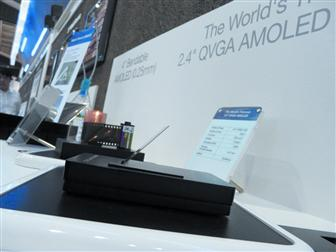 FPD International 2007: Samsung SDI shows ultra-slim AMOLED panel