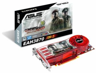 Asustek EAH3870 graphics card<br>