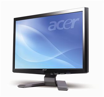 Acer P193W 19-inch widescreen LCD monitor