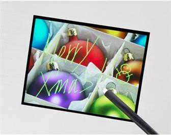 Sony showcases 3.5-inch multi-touch panel