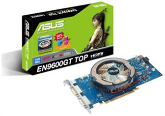 Asustek EN9600GT TOP/HTDI/512M graphics card