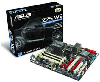 Asustek Z7S WS workstation motherboard