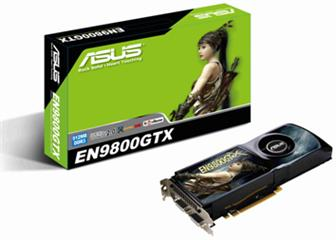 Asustek EN9800GTX/HTDP/512M graphics card<br>