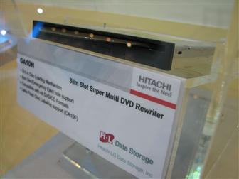 Hitachi GA10N slim slot Super Multi DVD rewriter
