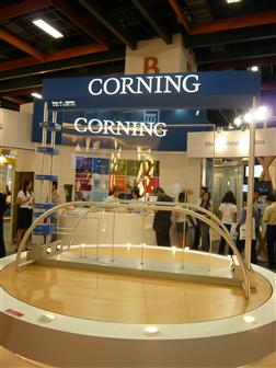 Display Taiwan 2008: Corning glass substrates