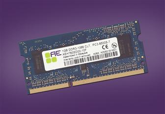 Qimonda Aeneon-brand DDR3 SO-DIMM