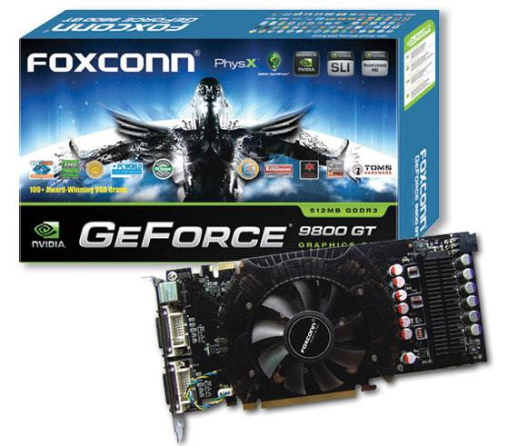 Foxconn GeForce 9800 GT graphics card