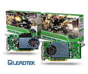 Leadtek WinFast PX9500 GT series graphics cards