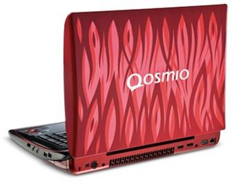 Toshiba Qosmio X305 notebook featuring Nvidia's latest GeForce 9M series GPUs