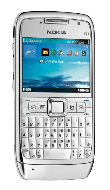 Nokia E71 the slimmest QWERTY device on the market