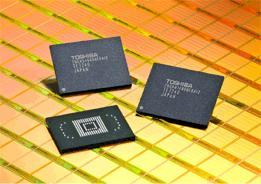 Toshiba introduces high-density embedded NAND flash