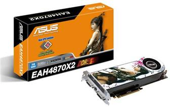 Asustek EAH4870X2 series graphics card
