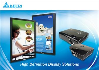 Delta high definition display solutions