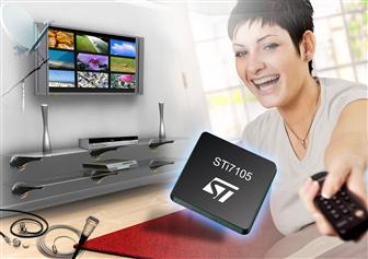 STMicroelectronics begins sampling next-generation decoder IC for STBs